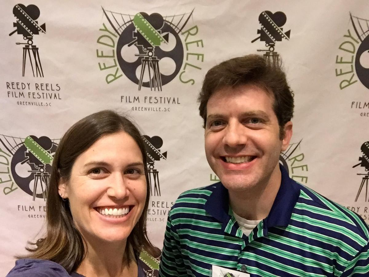 Brian and Joanna at Reedy Reels Film Festival